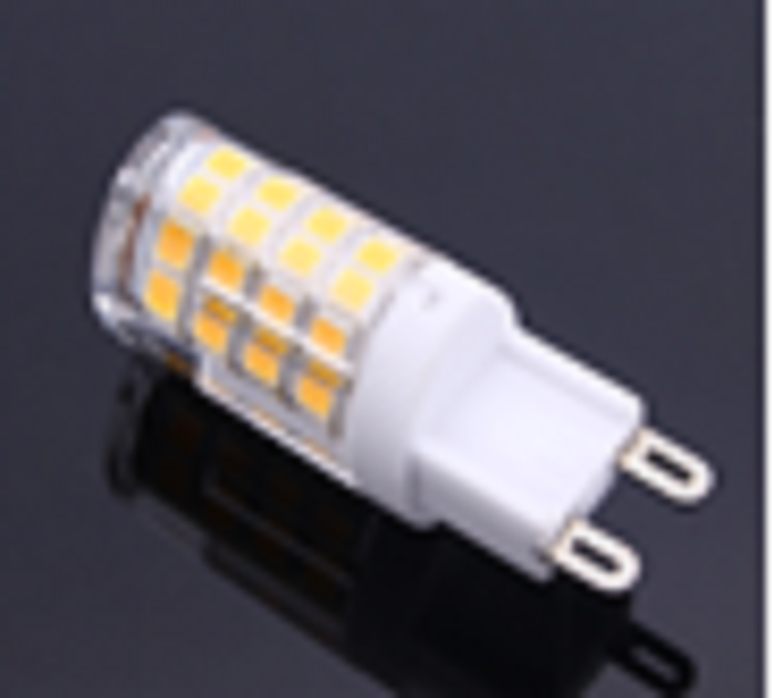 <p>Category: LAMP & GEARS</p><br/><h1>LED CAPSULE G9 220V</h1><br/><p>Light Source: LED  <br><br>Lamp Type: CAPSULE <br><br>Type: G9  <br><br>Lamp Power: 4.5W <br><br>Lamp Luminous Flux: 450 LUMENS  <br><br>Efficiency: 100LM/W  <br><br>Color Temperature: 3,000K  <br><br>Beam Angle: 360D  <br><br>CRI: &gt;80</p>